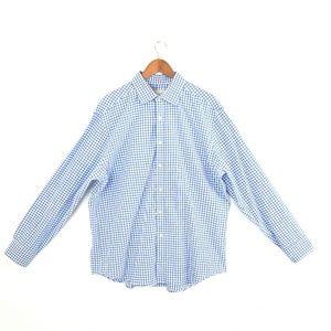 Michael Kors Checkered Long Sleeve Slim Shirt